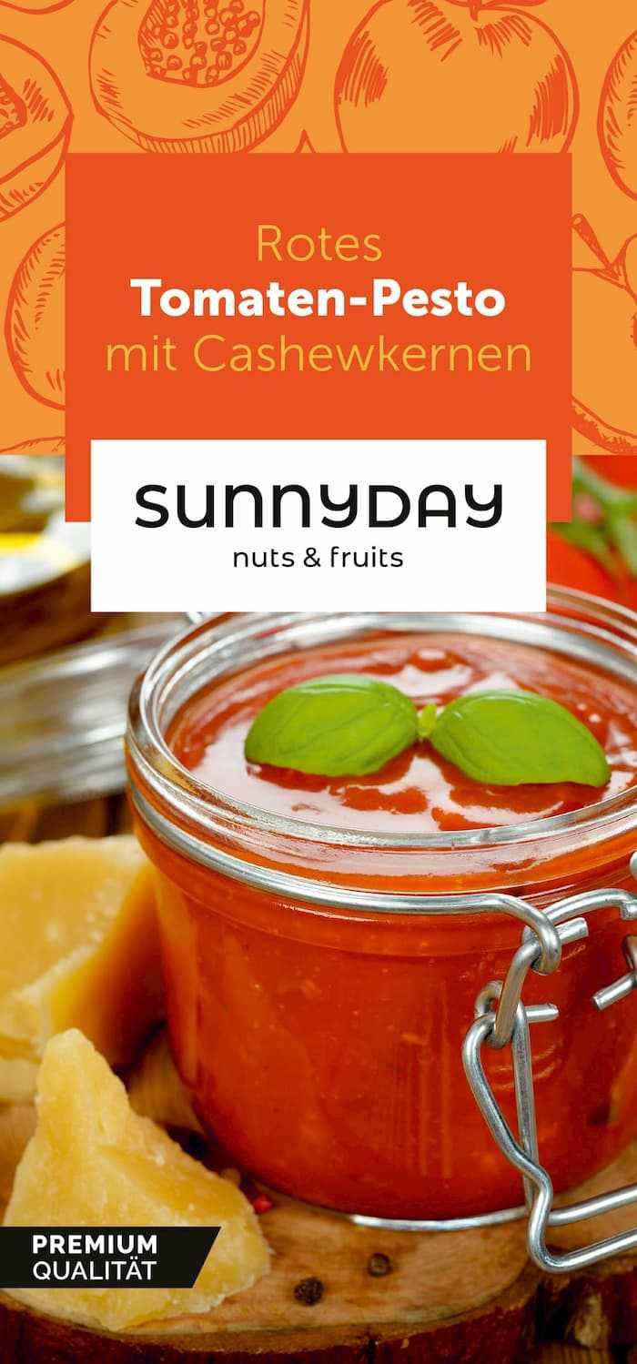Sunnyday Rezeptkarte Tomaten-Pesto