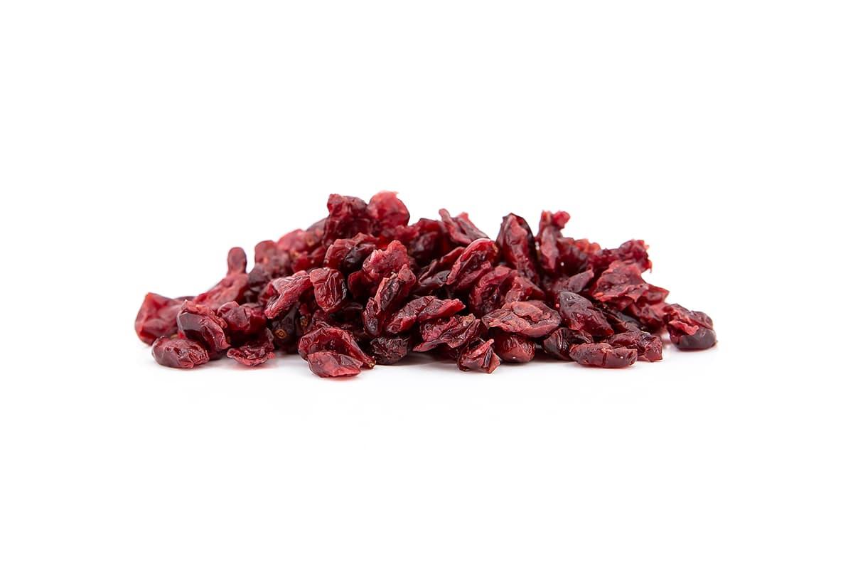 Cranberries mit Ananassaft