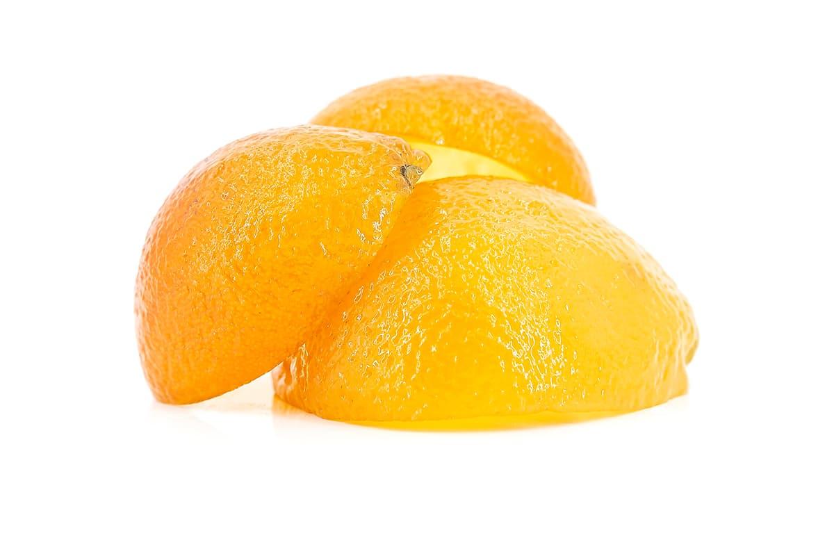Orangen (Halbe Schalen)