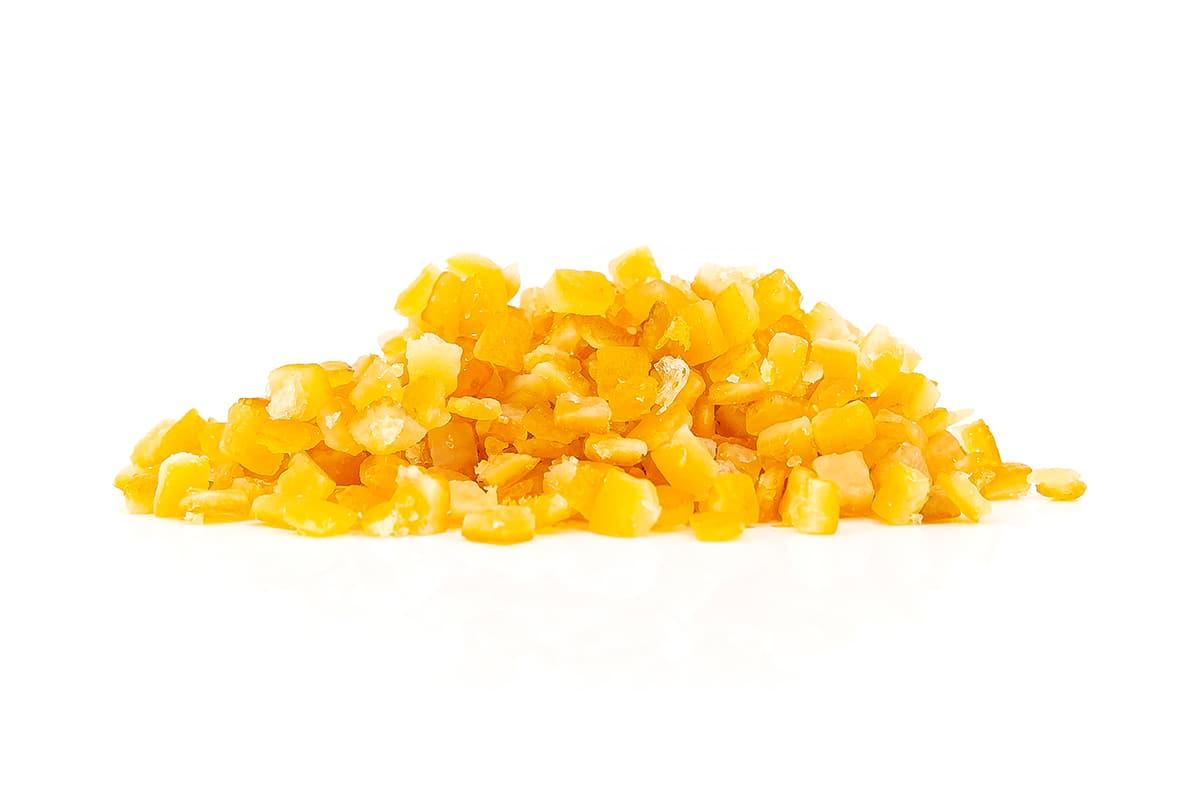 Orangeat Würfel (6mm)