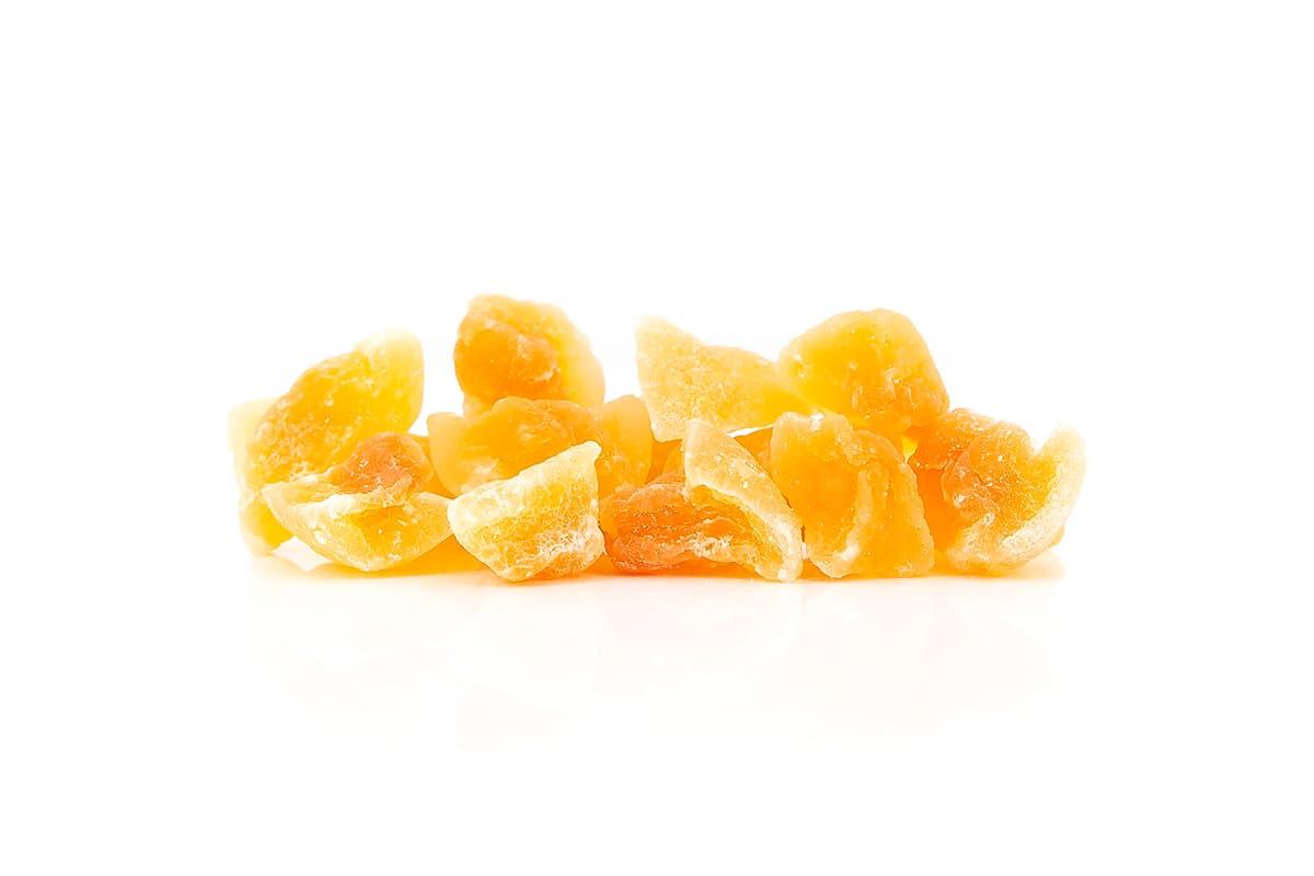 Melonen Stücke (Cantaloupe)