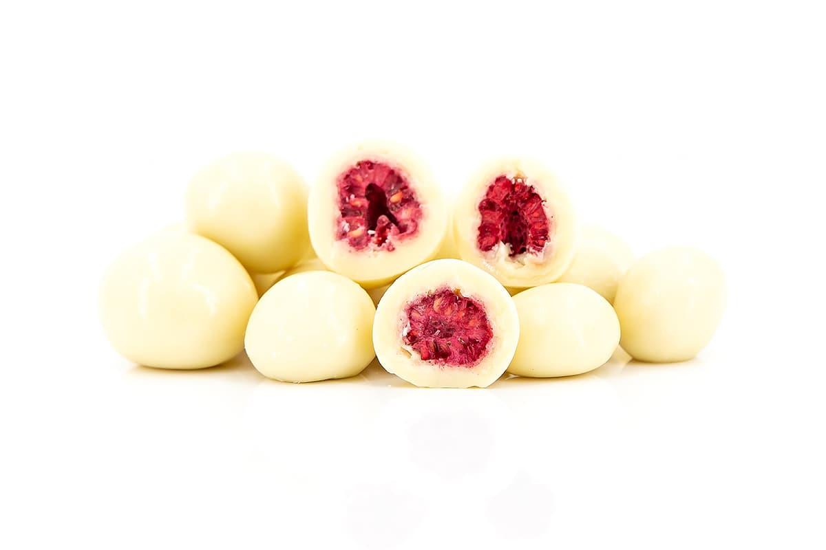 Joghurt Himbeeren gefriergetrocknet
